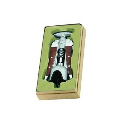 Luxury Laguiole Lever Ratchet Corkscrew Wine Bottle Opener Gift Box • 39.95£