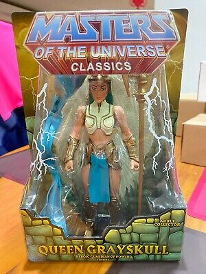 $119.99 • Buy MATTEL MASTERS OF THE UNIVERSE CLASSICS QUEEN GRAYSKULL W/BOX (HE-MAN SKELETOR )