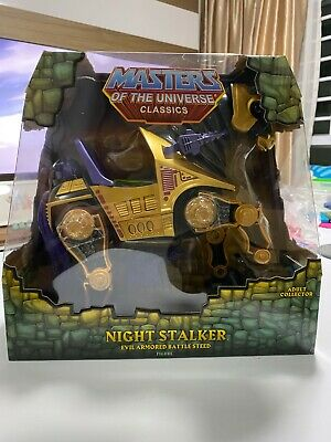 $129.99 • Buy MATTEL MASTERS OF THE UNIVERSE CLASSICS NIGHT STALKER W/ BOX (HE-MAN SKELETOR)