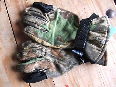 £29.95 • Buy Whitewater Realtree Advantage Timber Camo Waterproof Lined Shooting Gloves Xl