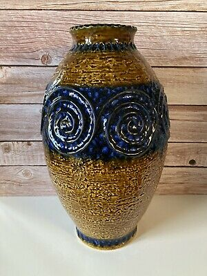 Vintage Jasba West German Pottery Large Floor Vase N322 11 40  Mid Century Retro • 39.99£