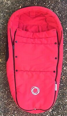 £19.99 • Buy Bugaboo Footmuff In Red Cosytoes For Cameleon 1 & 2 Buffalo Bee