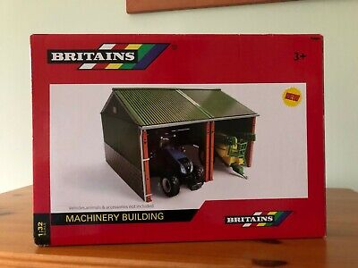 Britains Farm Machinery Building 42808 • 17£