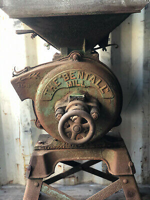 Vintage Bentall Mill Farm Machinery Corn Mill • 500£