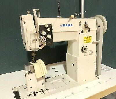 £1849 • Buy Juki Double / Twin Needle Post Bed Walking Foot Compound Feed Industrial Sewing