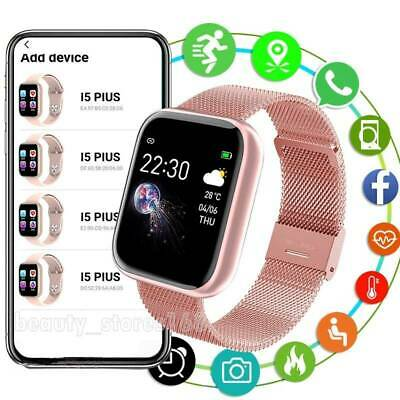 AU31.99 • Buy 2021 Bluetooth Smart Watch Waterproof Heart Rate Fitness Tracker For Android IOS