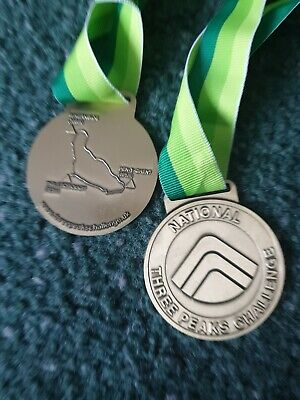 National And Yorkshire Three Peaks Challenge Medals • 2.30£