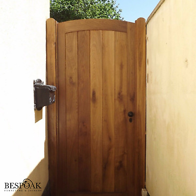 Made To Measure Solid Oak Garden Gate And Posts • 1,350£