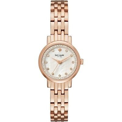 $ CDN172.84 • Buy Kate Spade NY Monterery Rose Gold Stainless Steel Bracelet KSW1243 Ladies Watch