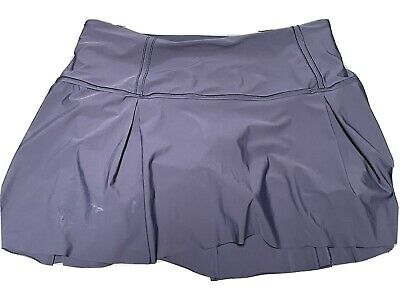 $ CDN62.17 • Buy Lululemon Lost In Pace Skirt Tennis Skort Size 10 Tall Midnight Navy EUC Shorts