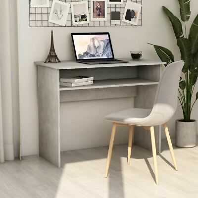 AU72.95 • Buy Computer Workstation Writing Desk With Shelf Home Office PC Laptop Study Table