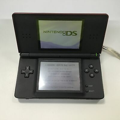 AU31 • Buy Red Nintendo DS Lite With Stylus, Two Games And Case #805