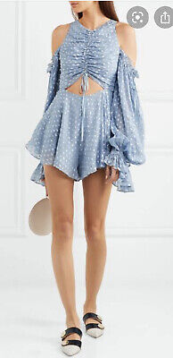 AU120 • Buy Alice Mccall Did It Again  Blue Playsuit Size 6