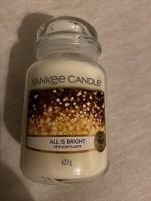Yankee Candle Large Jar All Is Bright  • 15£