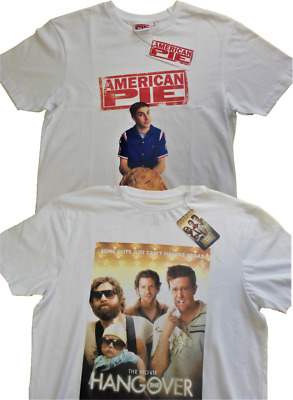 £5.99 • Buy MENS AMERICAN PIE THE HANGOVER T-SHIRT 100% COTTON WHITE T Shirt Top Primark