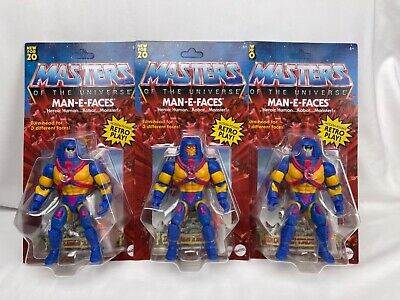 $33.98 • Buy Man-e-faces Masters Of The Universe Origins Ready To Ship