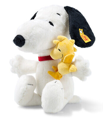 £79 • Buy Steiff Snoopy & Woodstock - Collectable Cuddly Soft Toy Dog - 29cm - EAN 658204