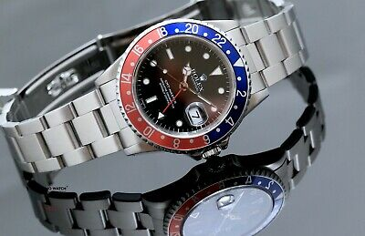 $ CDN17174.01 • Buy Rolex GMT-Master Pepsi Stainless Steel 16700 - Fully Serviced Year 1998
