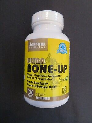 £14.87 • Buy Jarrow Formulas Ultra Bone-Up Bone Density Cardiovascular Health 120 Tablets *O