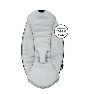$ CDN36.42 • Buy 4Moms MamaRoo Swing Infant Seat Fabric Cover Baby Replacement GREY Sliver Girl