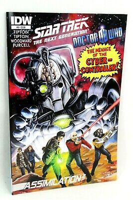 Star Trek Doctor Who Assimilation 2 Squared #8 IDW 2012 Comics Comic VF • 1.99£