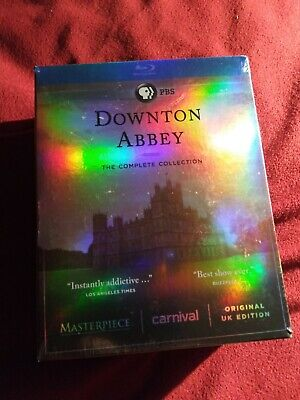 New! Downtown Abbey COMPLETE Collection 21 Disc Blu-Ray Set Region A Original UK • 37.92£