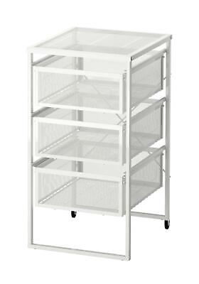 £24.98 • Buy IKEA Lennart 3 Drawers Storage Unit Castors Home Office Shop Use Hold A4 Paper