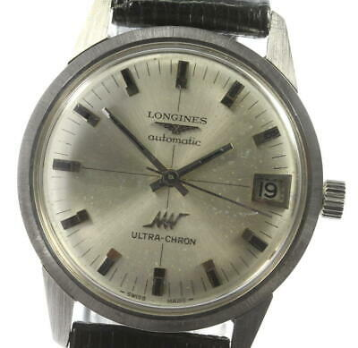 £321.91 • Buy LONGINES Ultra-chron Date Silver Dial Automatic Men's Watch_592233