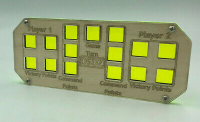 £12.99 • Buy Wargames Turn Counter, Victory Point And Command Point Marker- Acid Green