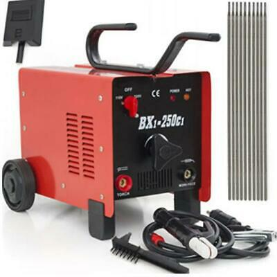 BX1-250C1 Electric TIG Welder 250AMP Inverter Steel Welding Machine Kit Red 2020 • 120.19£