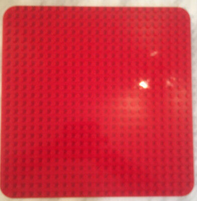 £11.99 • Buy Lego Duplo Base Board / Plate Red Large 24 X 24 Studs Baseplate
