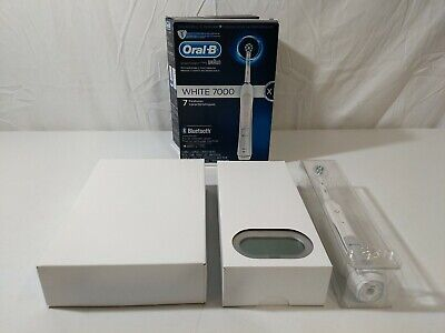AU92.67 • Buy Oral-B White 7000 SmartSeries Power Rechargeable Electric Toothbrush - Open Box!