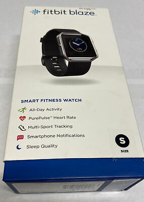 $ CDN69.63 • Buy Fitbit Blaze Smart Fitness Watch Small  Black Band Excellent Condition