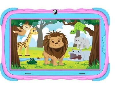 AU49.99 • Buy DGTEC 7'' Tablet IPS Colour - Android 9, Bluetooth, WiFi - Jungle - PINK