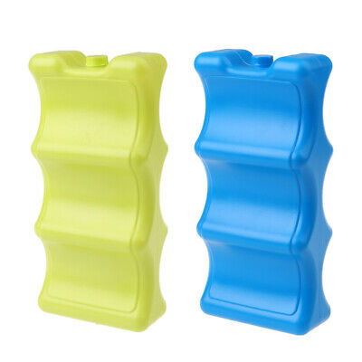 Freezer Blocks For Cool Bags Ice Boxe Plastic Cool Pack Holder Organizer • 15.90£