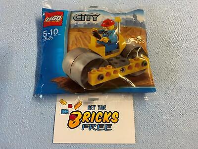 AU11.99 • Buy Lego City 30003 Steam Roller Polybag New/Sealed/Retired/Hard To Find