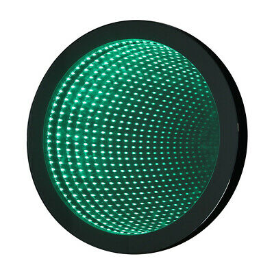 £125.95 • Buy Round Wall Infinity Night Lamp Creative Tunnel Mirror Light With Remote Control