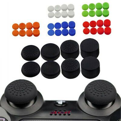 AU8.66 • Buy 8 X Silicone Controller Thumb Stick Grip Cap Cover For PS4 Xbox Game Accessories