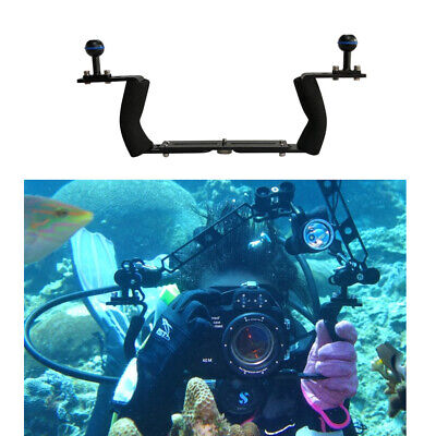 Premium Underwater Camera Tray Snorkeling Video Light Stabilizer Holder Supports • 33.31£