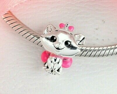 £5.60 • Buy New Disney Genuine Sale Silver The Aristocats Marie Charm