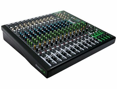 $499.99 • Buy Mackie ProFX16V3 16 Channel Mixer W/ USB & Built-In Effects