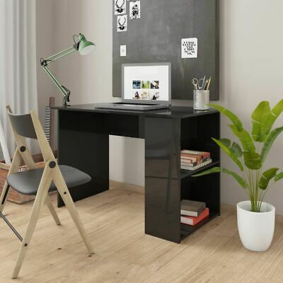AU100.95 • Buy Computer Desk With Shelves Student Study Writing Table Home Office Workstation