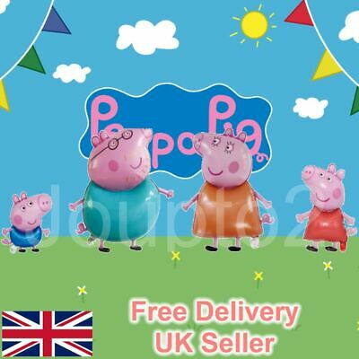 £3.79 • Buy Large Peppa Pig George Balloon Birthday Party Foil Air Helium Balloons UK Free