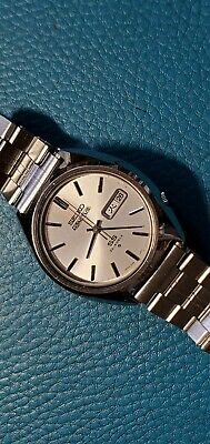 $ CDN102.85 • Buy Vintage 1974's Seiko 5 Actus SS Index Silver Dial Ref.6106-8670 Automatic Watch