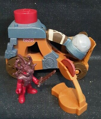Imaginext Castle Catapults With Sounds • 12£