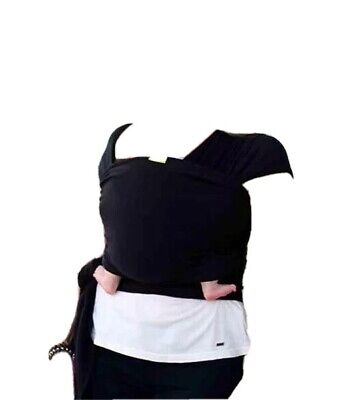 £24.99 • Buy Baby Carrier Boba Bamboo Black Baby Wrap