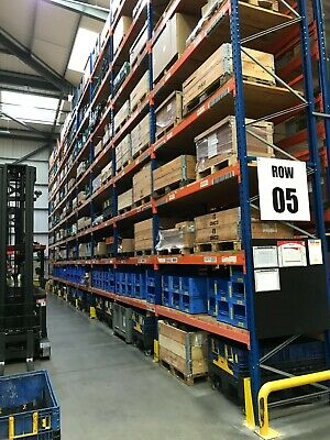 £85000 • Buy Used Storage Systems Pallet Racking Shelving Mezzanine Floors Cantilever Racking