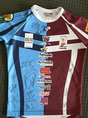AU75 • Buy Hand Signed Rugby League Jersey Memorabilia  Legends Of League Australia NRL