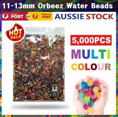 AU7.59 • Buy 11-13mm Orbeez Water Gel Beads Jelly Balls Crystal Soil For Vases Wedding Home
