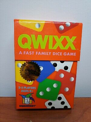 $ CDN10.64 • Buy QWIXX A Fast Family Dice Game By Gamewright Mensa Select Ages 8+ 2+ Players NEW